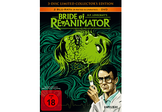 Bride Of Re-Animator (3-Disc Limited Collector's Edition) - (Blu-ray + DVD)