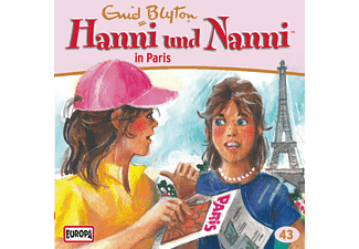 Hanni & Nanni - 43: Hanni und Nanni in Paris - (CD)