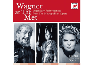 Metropolitan Opera Chorus, Metropolitan Opera Orchestra - Wagner At The Met: Legendary Performances From The Metropolitan Opera - (CD)