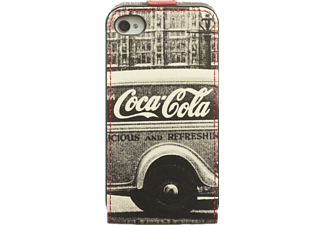 coca cola flip case apple iphone 4 4s taschen cover cases media markt. Black Bedroom Furniture Sets. Home Design Ideas