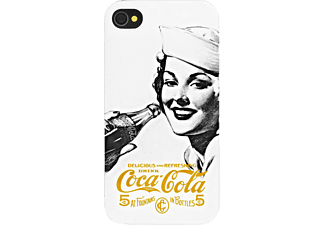 coca cola hochwertige echtledertasche flip case apple iphone 5 5s media markt. Black Bedroom Furniture Sets. Home Design Ideas
