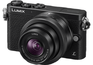 PANASONIC Lumix DMC-GM1 + 12-32/3,5-5,6 - Svart