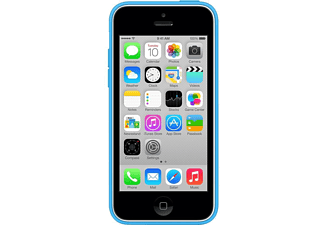 APPLE MF035ZM/A iPhone 5C Silikon Kılıf Mavi
