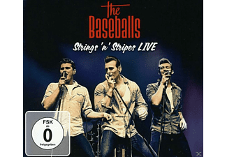 The Baseballs - Strings 'n' Stripes - Live - (CD + DVD Video)