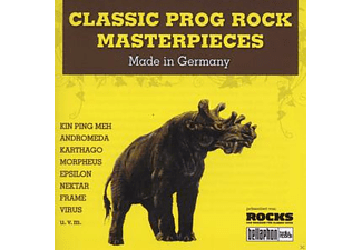 VARIOUS - Classic Prog Rock Masterpieces [CD]