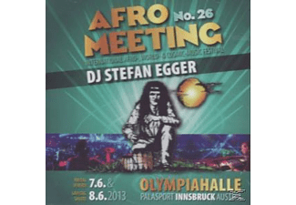 Dj Stefan Egger - Afro Meeting Nr.26-2013 [CD]