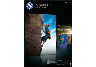 HP Advanced Glossy Photo Paper A4 - (Q5456A)
