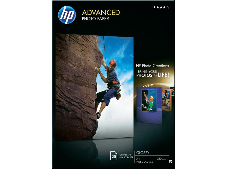 HEWLETT PACKARD Advanced Glossy Photo Paper A4 - (Q5456A) laptop  tablet  computing  εκτύπωση   μελάνια χαρτί εκτύπωσης