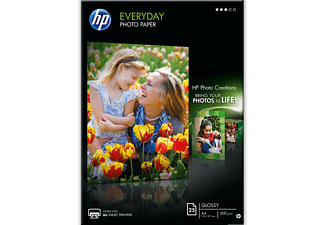 HP Everyday Glossy Photo Paper A4 - (Q5451A)