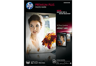 HP Premium Plus Semi-gloss Photo Paper A4 - (CR673A)