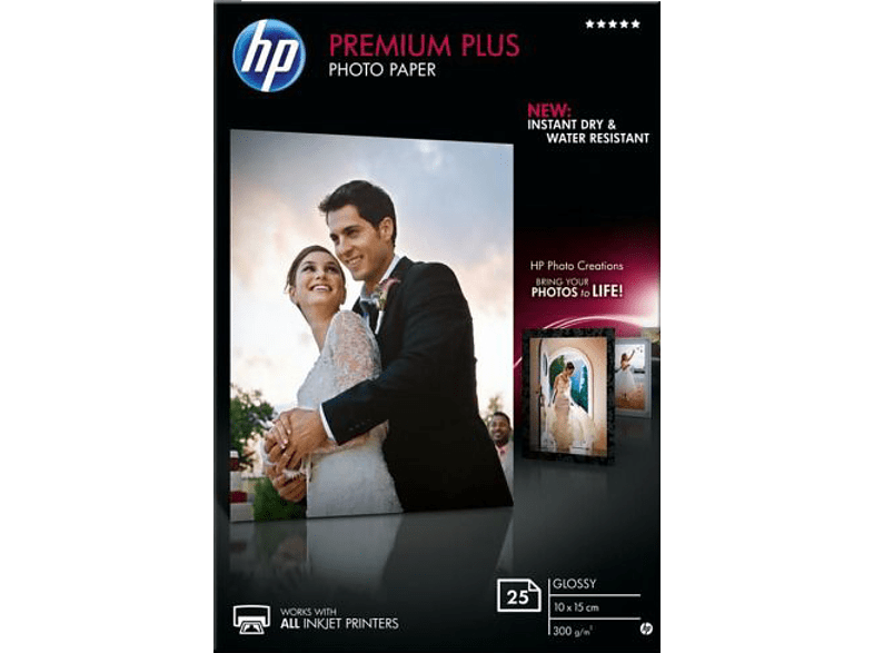 HEWLETT PACKARD Premium Plus Photo Paper Shapshot - (CR677A) laptop  tablet  computing  εκτύπωση   μελάνια χαρτί εκτύπωσης