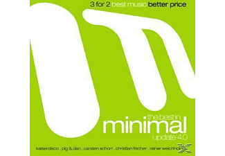VARIOUS - The Best In Minimal Update 4.0 - (CD)