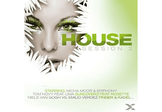 VARIOUS - Hot House Session Vol.2 - (CD)