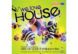 VARIOUS - We Love House - (CD)