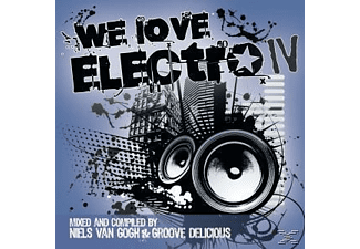 VARIOUS - We Love Electro Iv - (CD)