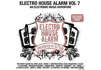 VARIOUS - Electro House Alarm Vol.7 - (CD)
