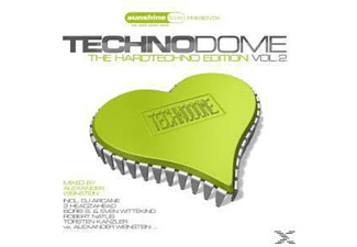 Alexander Weinstein - Techno Dome-The Hardtechno Edition Vol.2 [CD]
