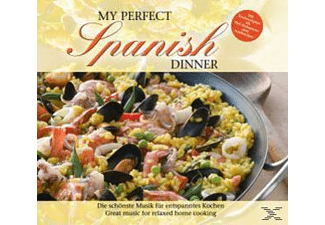 VARIOUS - My Perfect Dinner: Spanish - (CD)