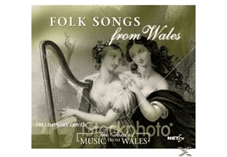 Various - Folk Songs From Wales [CD]