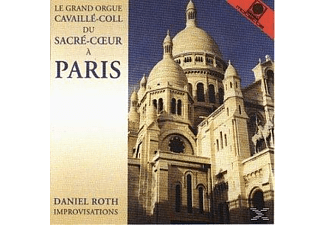 Roth Daniel - Le Grand Orgue Cavaille-Coll du Sacre-Cöur a Paris (Improvis - (CD)
