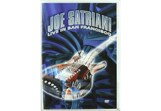 Joe Satriani - Joe Satriani Live In San Francisco - (DVD)