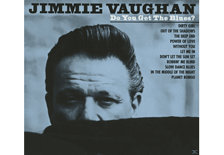 Jimmie Vaughan - Do You Get The Blues? [CD]