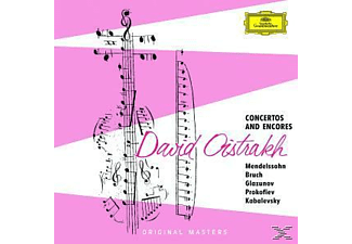 David Oistrach - Concertos And Encores - (CD)