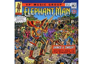 Elephant Man - Dance + Sweep!-Adventures Of.. - (CD)