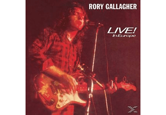 Rory Gallagher - Live In Europe - (Vinyl)