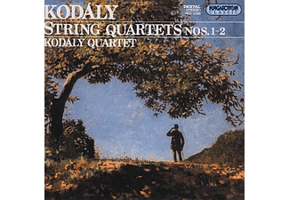Kodály Quartet - String Quartets Nos. 1-2 (CD)