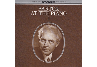 Bartók Béla - Bartók At The Piano (CD)