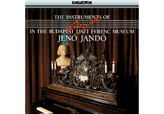 Jó Jenő - The Instruments of Liszt Ferenc in the Budapest Liszt Ferenc (CD)