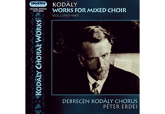 Debreceni Kodály Kórus & Erdei Péter - Works for mixed Choir Vol.2 (CD)