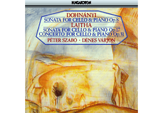 Szabó Péter & Varjon Dénes - Sonata for Cello and Piano (CD)