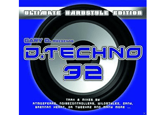 VARIOUS - Gary D. Presents D. Techno 32 [CD]