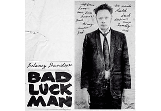 Delaney Davidson - Bad Luck Man (LP+CD) - (LP + Bonus-CD)