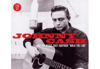 "VARIOUS - Johnny Cash & The Music That Inspired "" Walk The Line "" - (CD)"