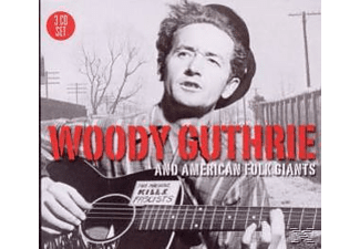 Woody Guthrie - Woody Guthrie & American Folk Giants - (CD)