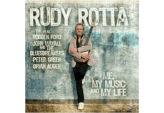 VARIOUS, ROTTA,RUDY FEAT.MAYALL,JOHN & THE BLUESBREAKERS - Me, My Music And My Life - (CD)
