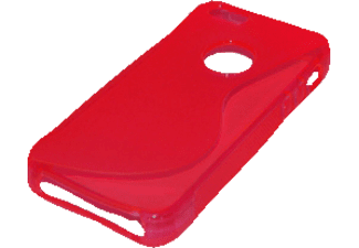 25235 TPU Case Backcover Huawei Ascend Y300 Polycarbonat Rot