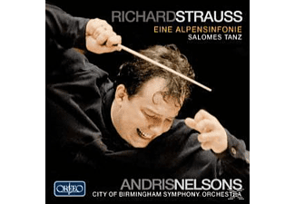 Andris & City Of Birmingham Symphony Orchestra Nelsons, Cbso Andris Nelsons - Eine Alpensinfonie,Salomes Tanz op.54 - (CD)