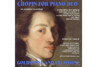 Clemmow, Goldstone & Clemmow - Chopin For Piano Duo - (CD)