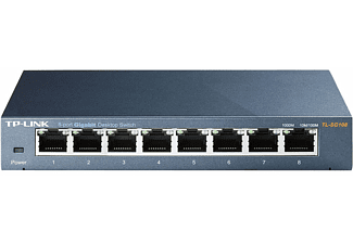 TP-LINK TL-SG108 8-port Gigabit Ethernet Switch