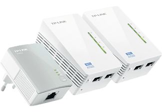 AV500 Powerline Universal Wi-Fi Range Extender starterset TL-WPA4220T