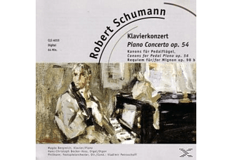 Robert Schumann - KLAVIERKONZERT IN A-MOLL - (CD)