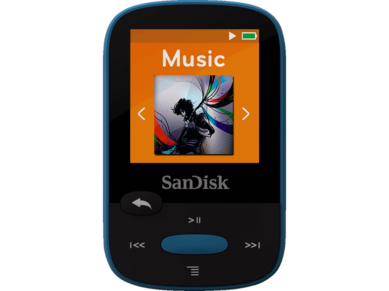 SAN DISK Sansa Clip Sport 8GB Blue - (SDMX24-008G-G46B) εικόνα   ήχος   offline φορητός ήχος ipod  mp3  mp4 τηλεόραση   ψυχαγωγία ήχος i