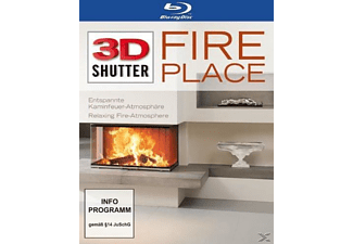 Fireplace 3D Shutter [3D Blu-ray]