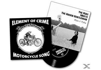 Element Of Crime/Perc Meets The Hidden Gentleman - Motorcycle Song/Man-I-Toba (White Vinyl) [Vinyl]