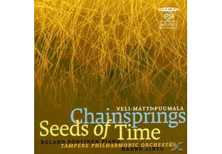 Lintu, Tampere Philharmonic Orchestra, Pöntinen - Chainsprings/Seeds of Time - (SACD Hybrid)