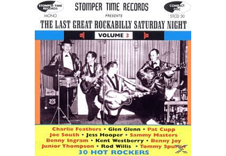 VARIOUS - The Last Great Rockabilly Saturday Night Vol.3 [CD]